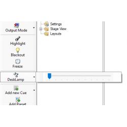 DeskLamp Anbindung DMXC 3.X.X